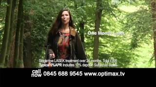 Optimax Laser Eye Surgery TV ad 2012 with Susannah Orchard