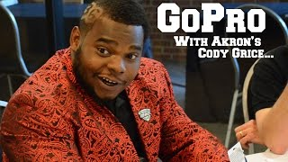 GoPro #MACtion: Akron's Cody Grice at MAC Football Media Day