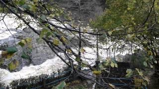 la cascade Besseges intempéries 2014