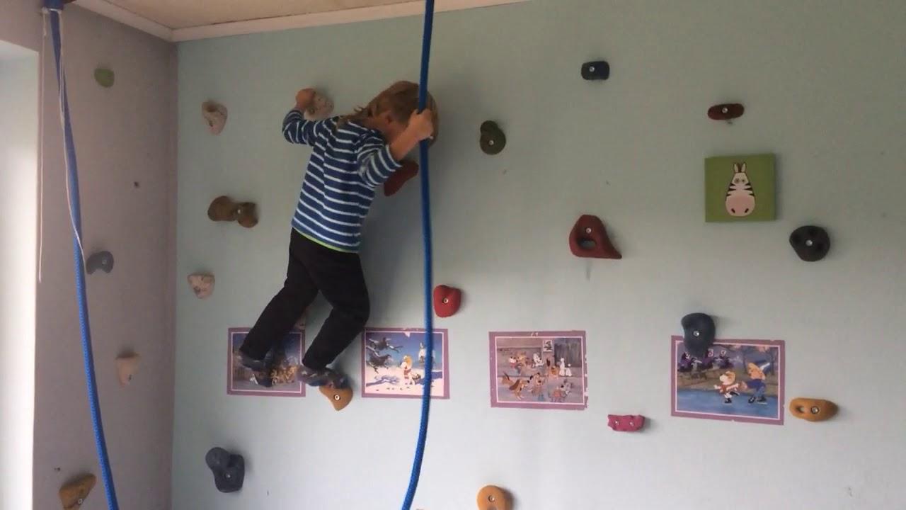 Ogromny domowa ścianka wspinaczkowa dla syna - YouTube VP75
