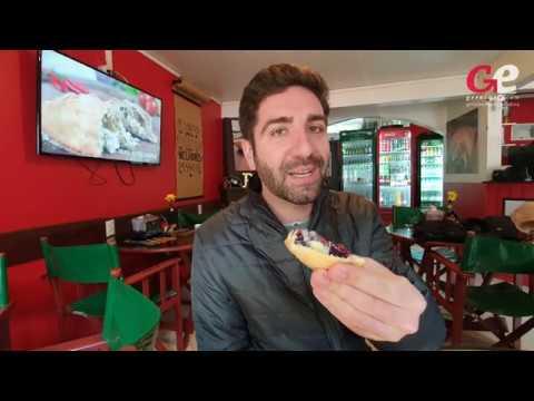 Pastel de sagu é criado em Porto Alegre para o mês farroupilha