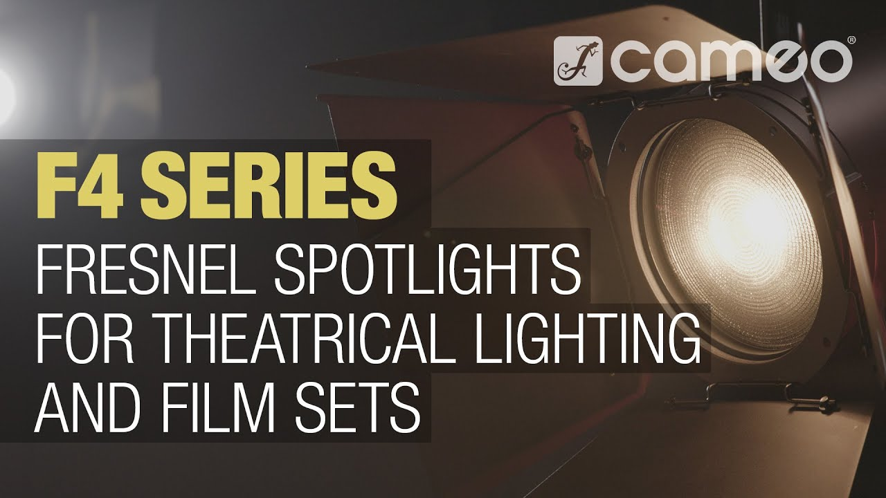 Cameo F4 Series | Fresnel Spotlights for theatrical lighting and film sets