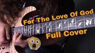 Steve Vai - For The Love of God (Cover) RG30 J-Custom