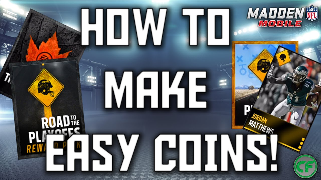 Madden mobile 16 how to become rich best coin making methods
