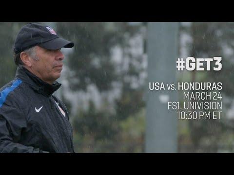 Bruce Arena: Let's #Get3 vs. Honduras