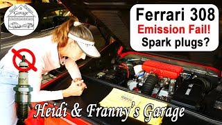 The Ferrari FAILED Emissions! Sparkplug fail?