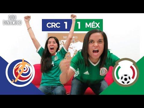 Reacción del pase al MUNDIAL DE MÉXICO y al Costa Rica vs EL TRI (1-1)   Dúo Dinámico