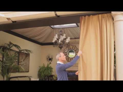 Outdoor Curtains & Blinds | eHow
