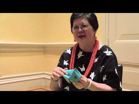 Origami Artist Marcia Mau:  Interview