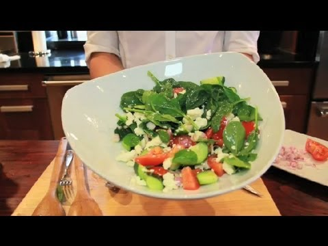 Cucumber Spinach Salad : Spinach Salads