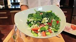 Cucumber Spinach Salad : Spinach Salads