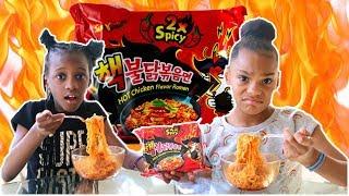 2x Spicy Noodle Challenge ft YAYA Panton