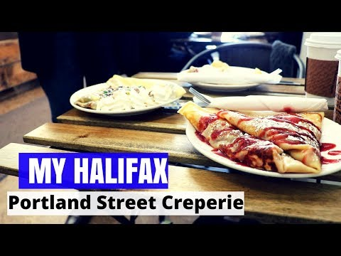 Portland Street Creperie - My Halifax - Things To Do In Halifax, Nova Scotia
