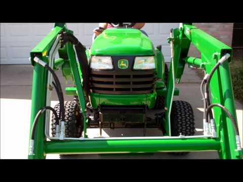 hydraulic hook up tractor