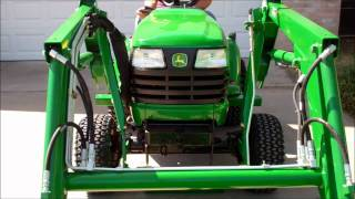 Attaching the John Deere 45 Front End Loader