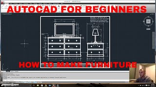 FURNITURE - AUTODESK AUTOCAD 2D PLAN