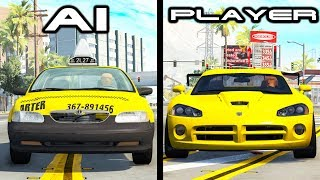 AI vs Players (Cars edition) #1 - Beamng drive