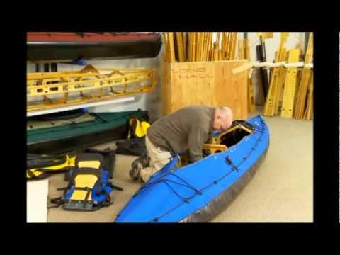 Long Haul Folding Kayaks Mark II Disassembly Part 1