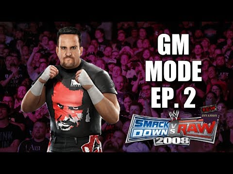 WWE Smackdown vs RAW 2008: GM Mode  2 WHO WRITES THIS STUFF