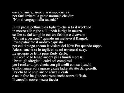 J-ax - l'uomo col cappello (Lyrics/Testo)