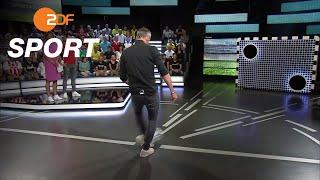 Torwand: Rose gegen Girke | das aktuelle sportstudio - ZDF