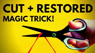 Beginner &#39Cut and Restored&#39 Magic Trick Revealed (Learn the Secret Now!)
