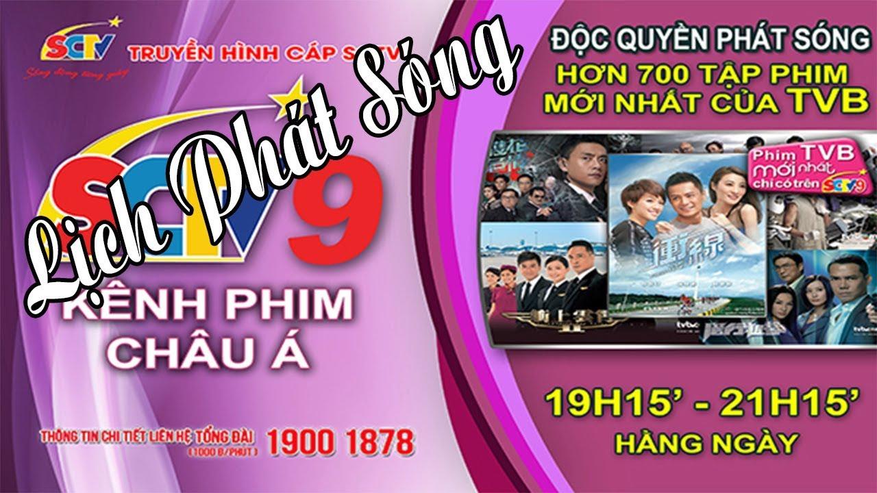 Lịch phát sóng SCTV9 – Hôm nay Chủ Nhật, 10/11/2019