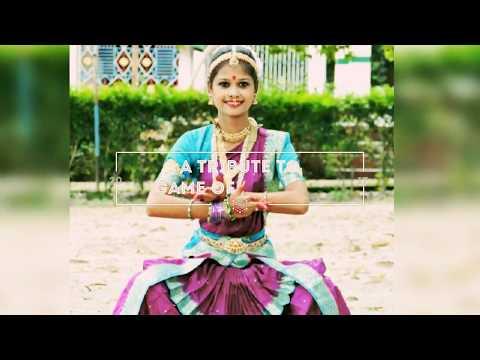 A Tribute To Game of Thrones / Indian Classical Version / Mahesh Raghavan / Bharatnatyam dance cover