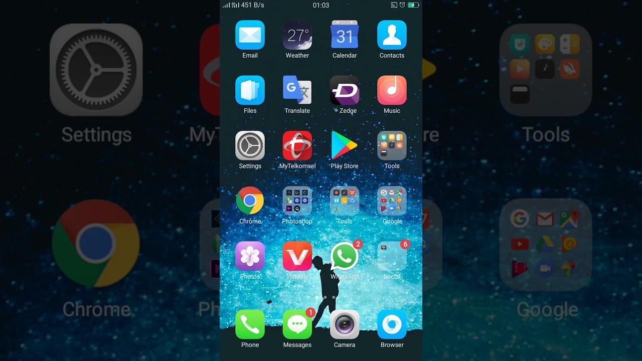 Oppo App Store Cara munculin