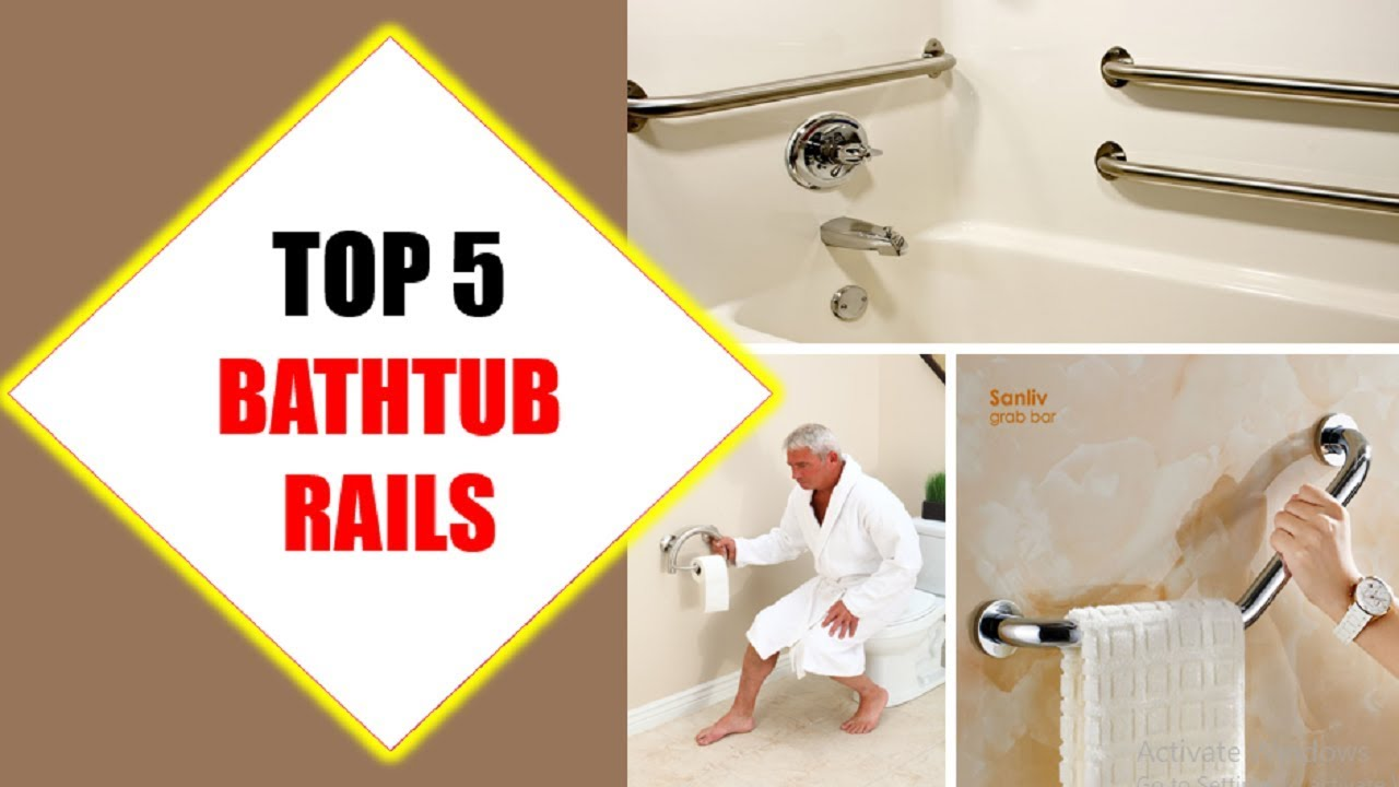 Top 5 Best Bathtub Rails 2018 | Best Bathtub Rail Review By Jumpy ...