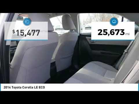 2014 Toyota Corolla LE ECO Maplewood, St Paul, Minneapolis, Brooklyn Park, MN J11108B