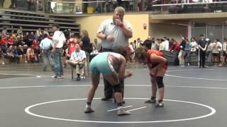 2014 SFU International: 53 kg Kate Richey vs. Laura Anderson