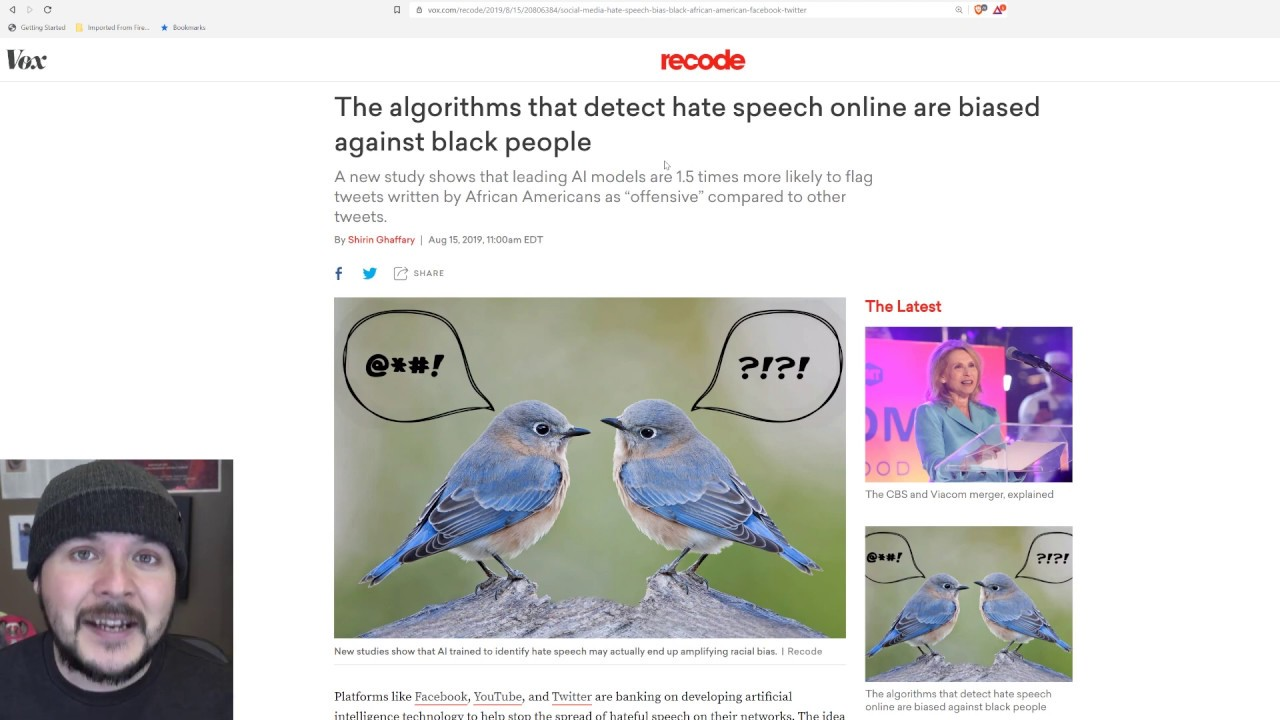 Hate Speech Algorithms BACKFIRE, Turn Out To Be Racist
