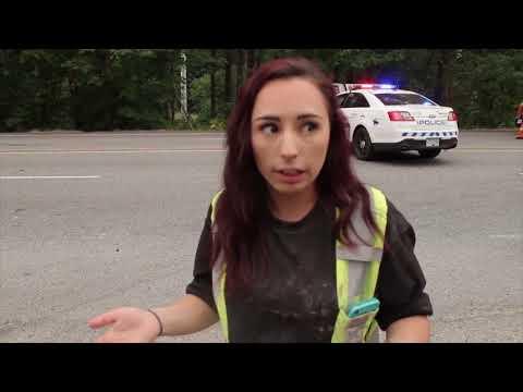 Runaway dump truck causes multi-vehicle crash on Lougheed Highway