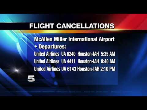 Flight Cancellations due to Winter Weather