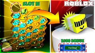 ROBLOX | THE 31ST SLOT AND THE PHOTON BEE POSSESSION | Bee Swarm Simulator