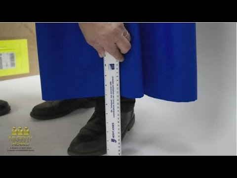 How To Measure Clergy Robes Robe Experts Youtube