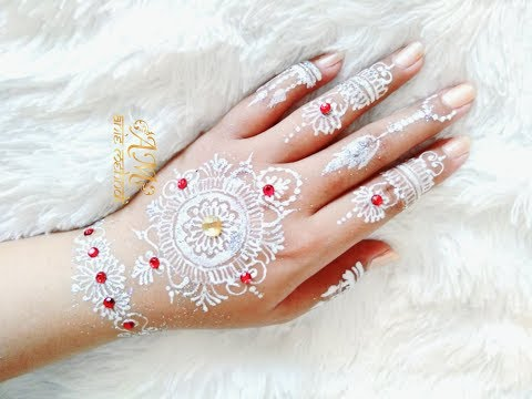 White Henna For Wedding