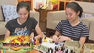 Matanglawin: Twins Tracy and Lindsey Dioneda talk about their crafts painted with nail polish