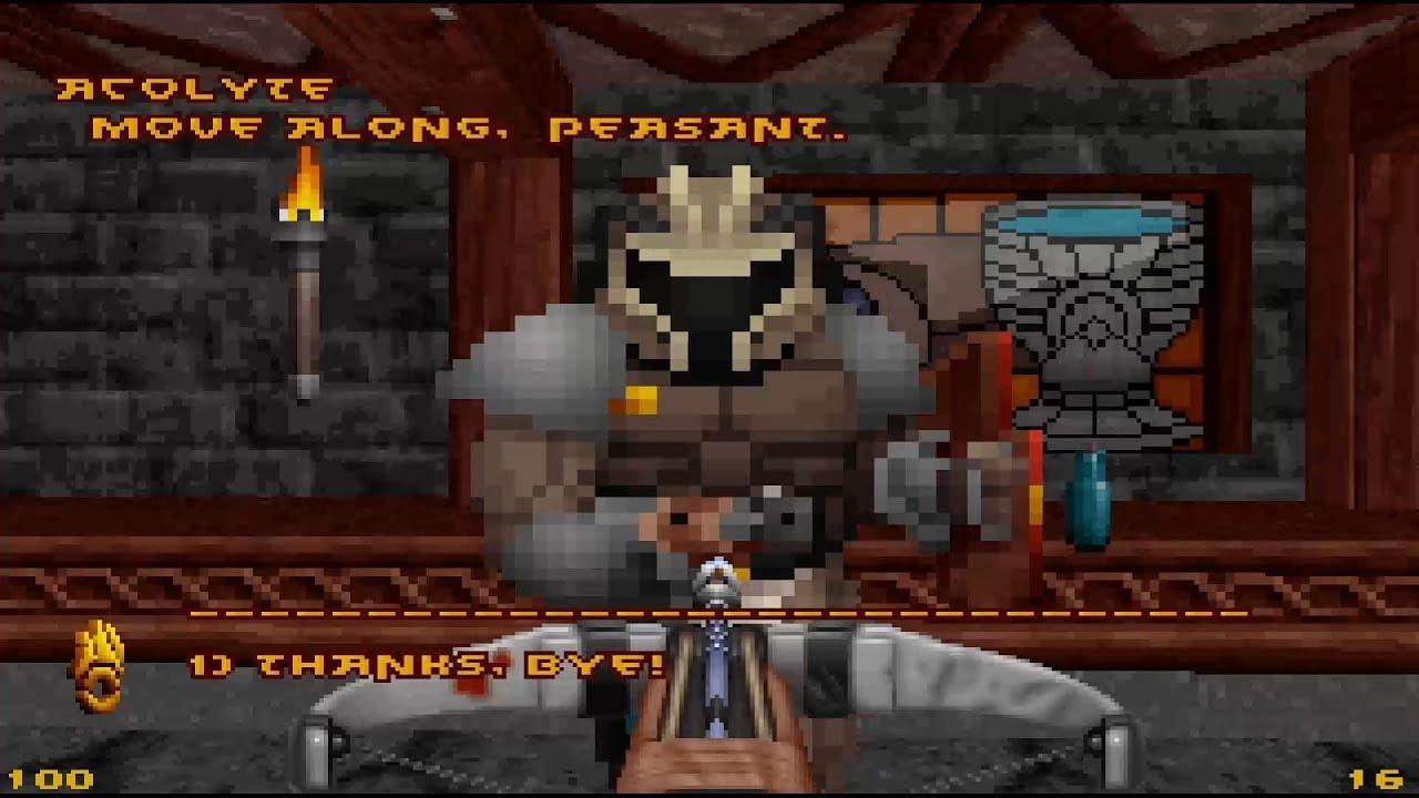 AMIGA 68k AGA STRIFE DOOM RGP SHOOTER GAME FROM DOOM ENGINE Amiga Port By  lantus360 lha