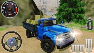 Offroad Cargo Truck Driving Simulator 3D - Hard Worker ZIL-130   Mobile Games screenshot 3