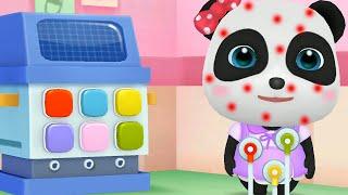 Little Panda School Bus BabyBus games fun kids gameplay episode 1 screenshot 3
