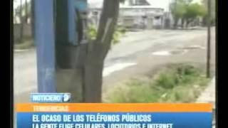 El ocaso de los teléfonos públicos en Mendoza.