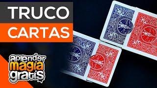 Coincidencia alucinante truco de magia con cartas Aprendermagiagratis