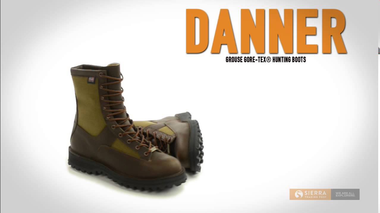 Danner Grouse Gore-Tex® Hunting Boots - Waterproof (For Men) - YouTube