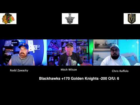 Chicago Blackhawks vs Las Vegas Golden Knights 8/15/20 NHL Pick and Prediction Stanley Cup Playoffs (skip to 17s)