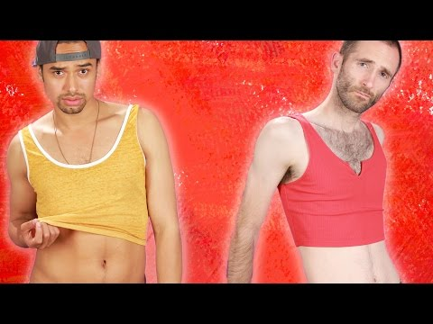 Thumbnail: Men Wear Crop Tops For A Day
