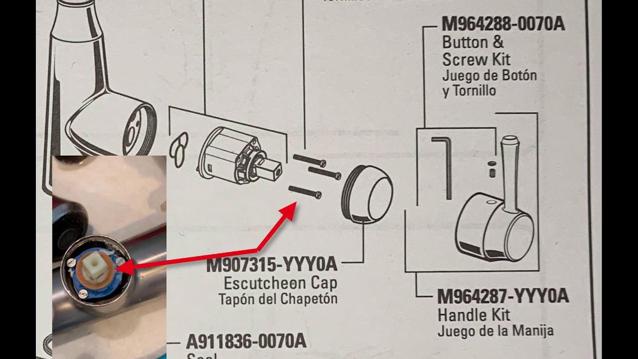 american standard soltura kitchen faucet water filter cartridge repair model 9391 301