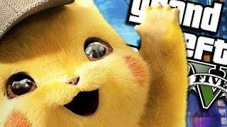 The NEW POKÉMON Detective Pikachu MOVIE MOD - PART 2 (GTA 5 PC Mods Gameplay)