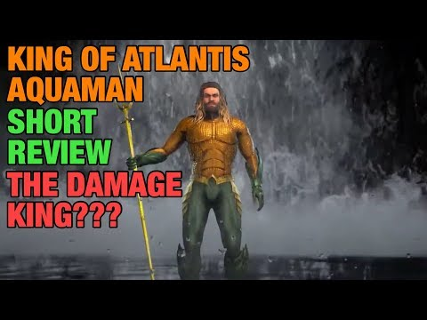 Injustice 2 Mobile | King of Atlantis Aquaman Short Review & Gameplay